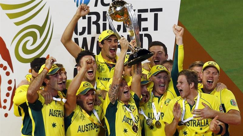 This is Australia's fifth World Cup trophy [Reuters]