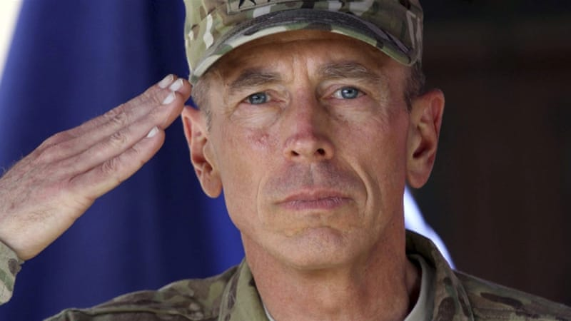 The affair with Paula Broadwell brought about Petraeus' abrupt fall [EPA]