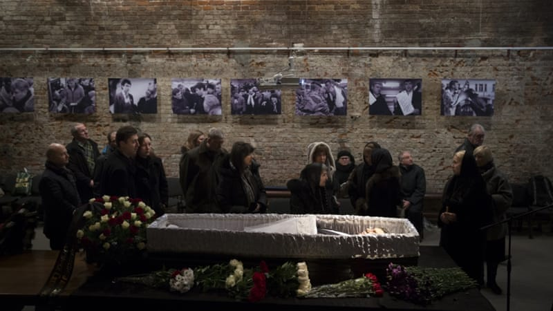 A reward of three million rubles [$48,000] has been offered for information on Nemtsov's death [AP]