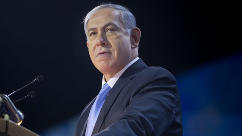Israeli Prime Minister Benjamin Netanyahu has been criticised for failing to ease living costs, which have risen by an estimated 16 percent in the past two years [AP]