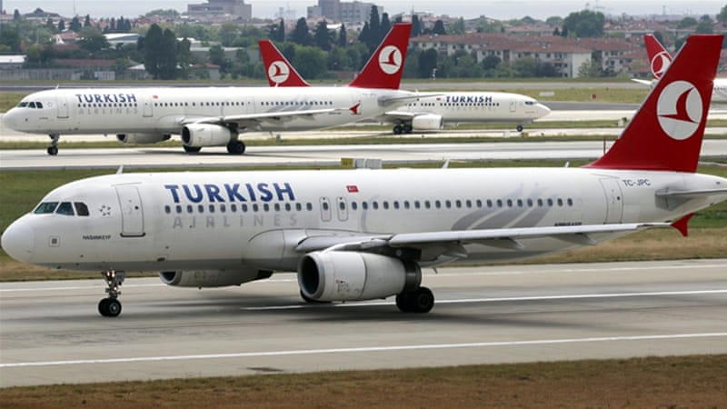 Flight TK15 was en route from Istanbul's Ataturk airport to Sao Paulo before being diverted to Casablanca airport [File: Reuters]
