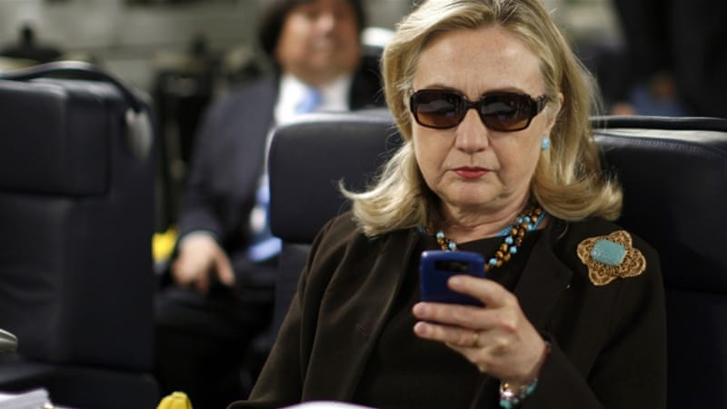 Hillary Clinton had no federal government email address during her four years at the State Department [Reuters]
