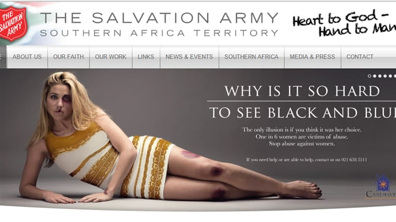 Domestic violence advert stirs up storm in South Africa - Al ...