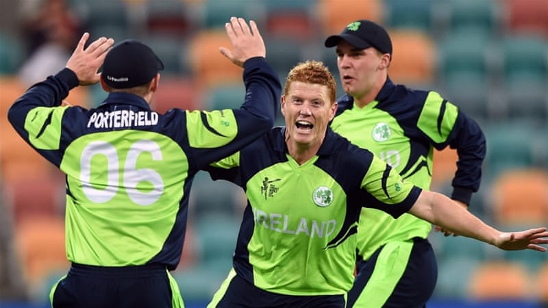 Ireland bowlers gave away just two wides and one no-ball [AFP]