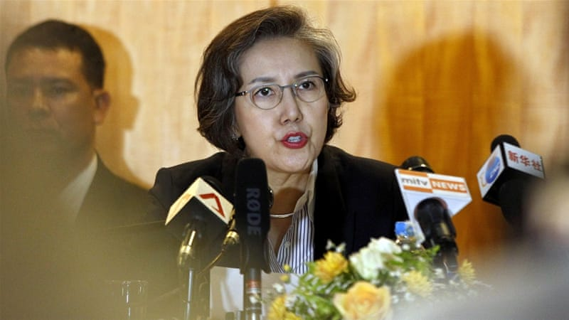UN investigator, Yanghee Lee, said she observed no improvements for displaced Rohingya Muslims [FILE - EPA]