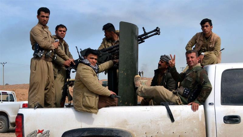 The battle against ISIL in Iraq includes the Iraqi army, Kurdish forces, Sunni tribal fighters and Shia militias [EPA]