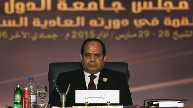 Sisi has been leading an initiative to form a unified Arab military force in the Middle East [Reuters]