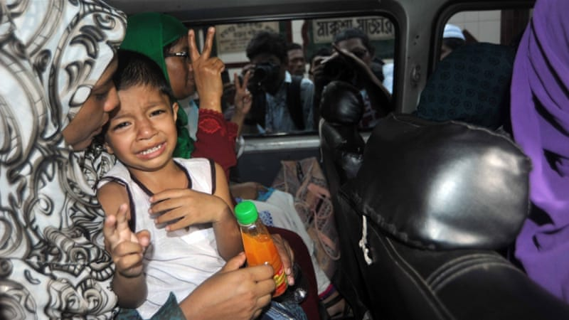 Qamaruzzaman's family members visited him for the last time in Dhaka's Central Jail [Getty Images]