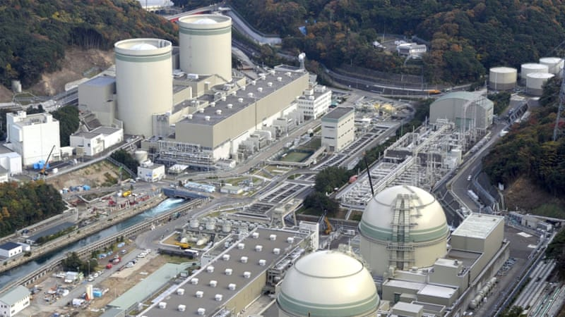 Prime Minister Shinzo Abe's pro-business government has been pushing for a restart of nuclear power plants [Reuters]
