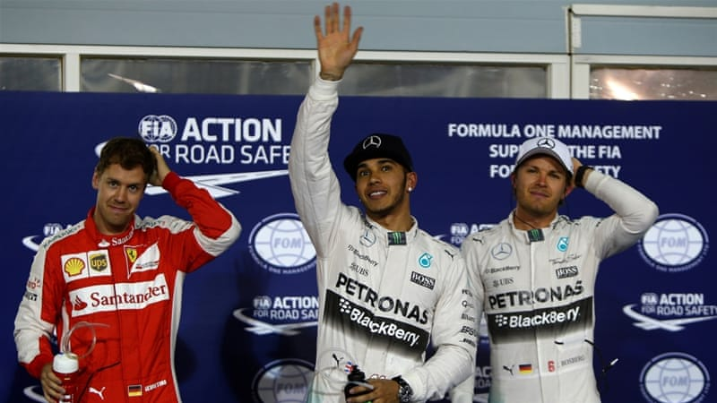 Hamilton leads Vettel by 13 points in the table [Getty Images]