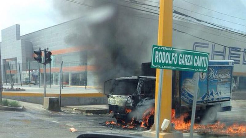 Reynosa has been one of the most violent cities in Mexico over the past year, wracked by cartel wars [AFP]