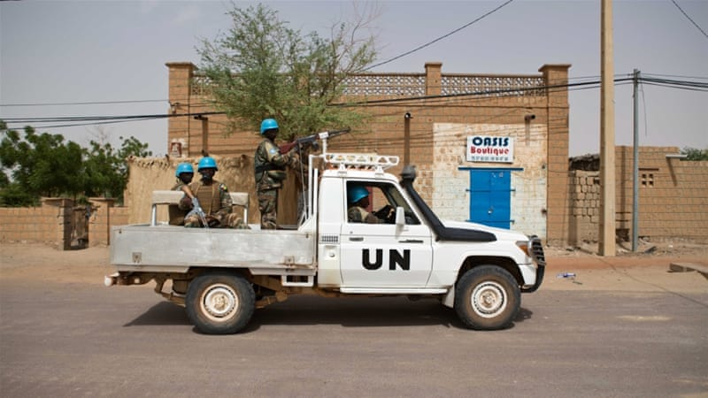 No group has claimed responsibility for the deadly attack on the UN convoy [EPA]