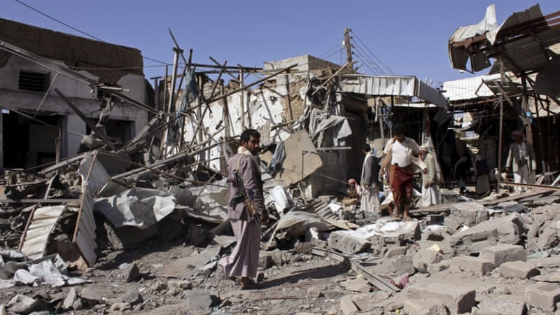The Houthi stronghold of Saada has been hit hard during the conflict [File: Reuters]