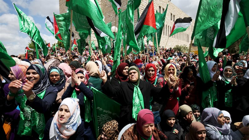 Hamas-affiliated students say there would be little benefit in reporting to the party's leadership in the West Bank, considering its limited influence [Reuters]