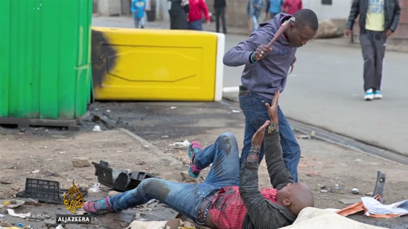 Xenophobic attacks have spread throughout South Africa [Al Jazeera]