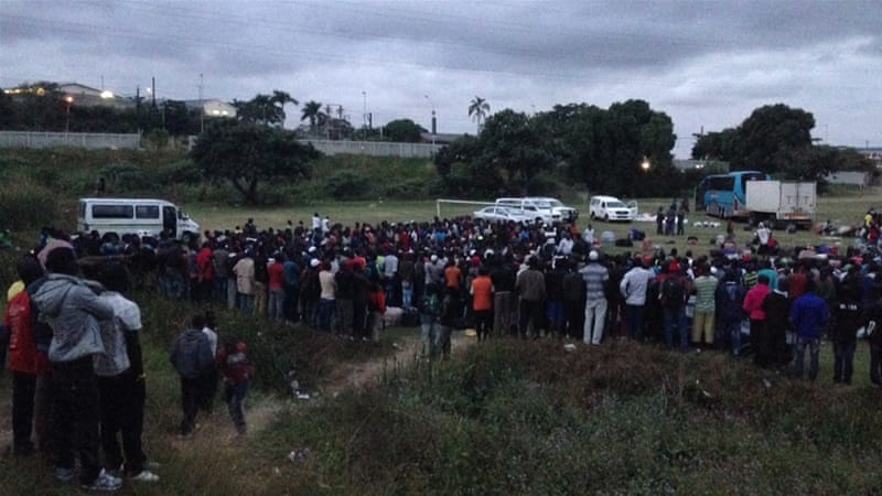 Officials appear keen on closing the remaining three camps in Pietermaritzburg, Chatsworth (pictured) and Isipingo [Azad Essa/Al Jazeera]