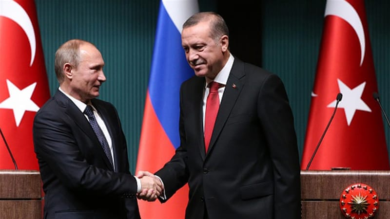 Russia could cooperate with Turkey in building a natural gas hub for the south of Europe [Getty]