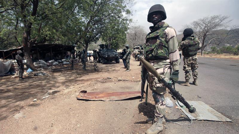 The Nigerian army, in tandem with soldiers from neighbouring countries, has been gaining ground against Boko Haram [AP]