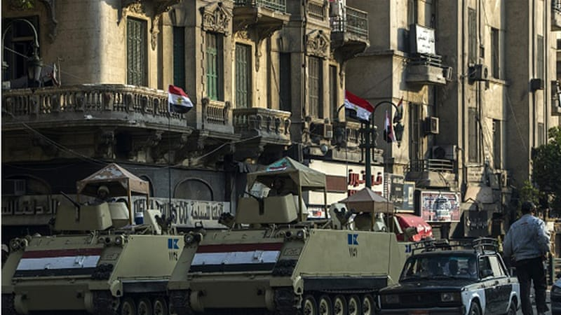 The state's encroachment upon Tahrir Square seems to herald a new era in Egyptian street politics, writes Mousa [Getty]
