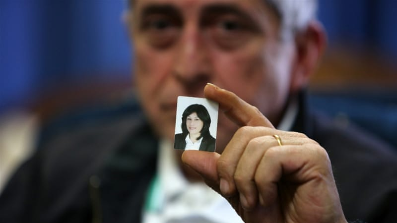 Jarrar was arrested during a raid on her home by the Israeli army last week [AFP]