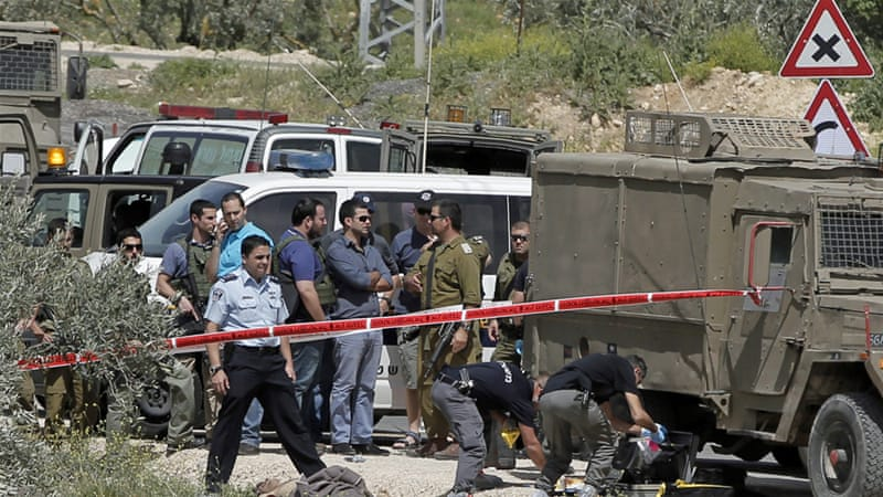 The attack occurred near the settlement of Shilo, about 50km north of Jerusalem [AFP]