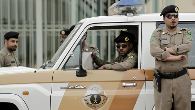 Security forces detained five people, including one woman, the interior ministry said [File: AP]