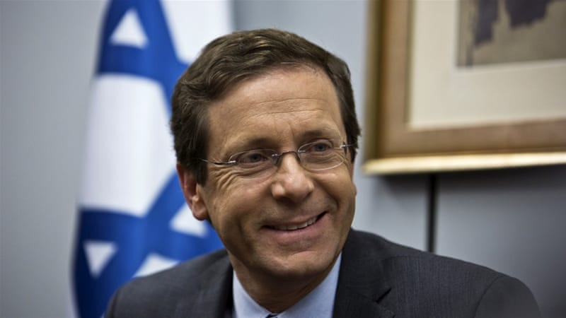 To get rid of Palestinians who are residents of Israel and have an Israeli identity card, Herzog endorses cutting off Palestinian villages from Jerusalem, writes Gordon [Reuters]