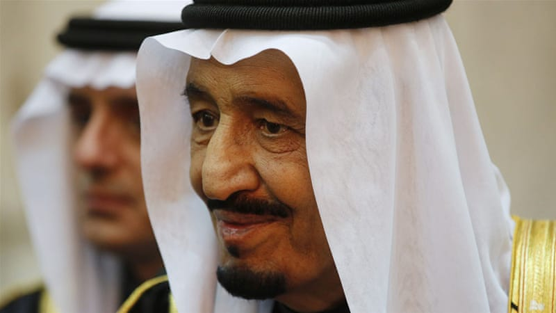 King Salman, who took power in January, has not travelled abroad since his ascension to the throne [Reuters]