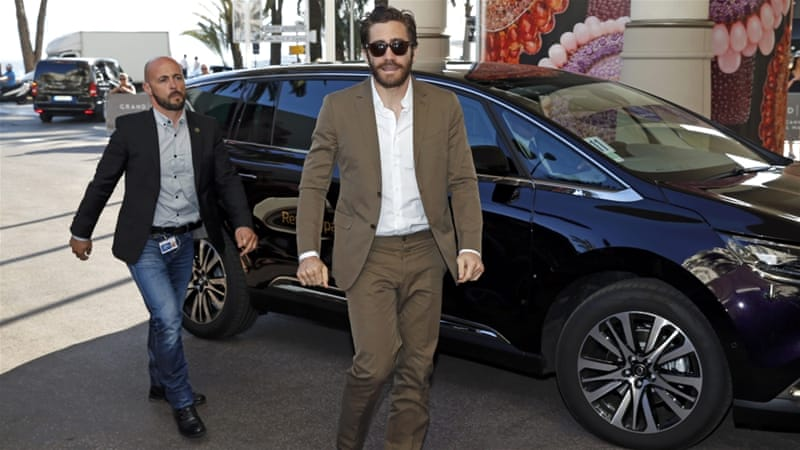 Jury member actor Jake Gyllenhaal arrives at Cannes [REUTERS]