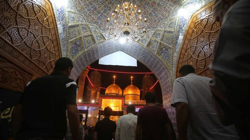 The Shia pilgrims were on their way to Imam Musa Kadhim shrine [AP]
