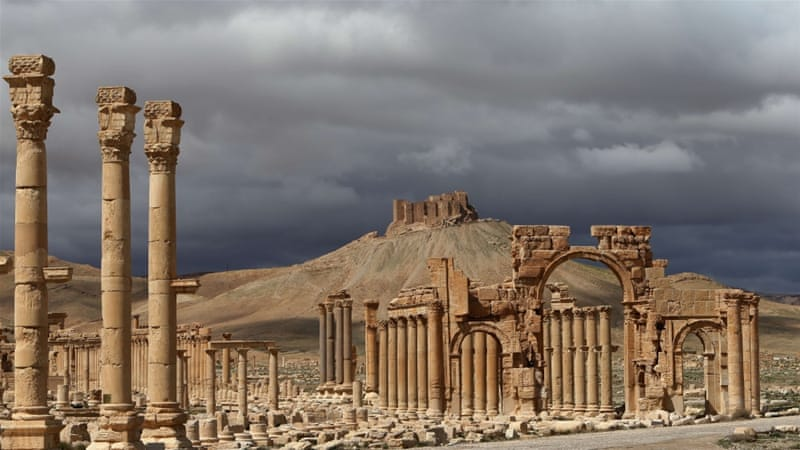 Before the war some 150,000 tourists a year visited Palmyra [AFP]