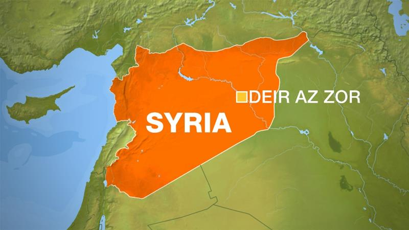 Syria, Russia: Coalition kills regime forces