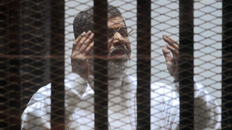 Former Egyptian President Mohamed Morsi [EPA]
