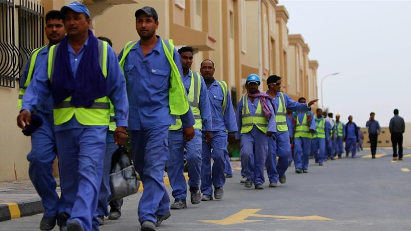 The Kefala system required all foreign workers to obtain their employer's consent to travel [File: Marwan Naamani/AFP]