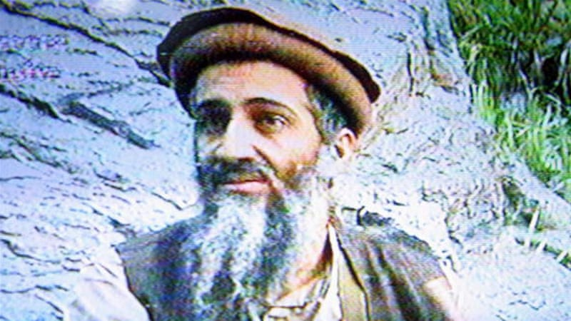 A still image from a videotape showing the late al-Qaeda leader Osama Bin Laden in an unspecified location [Getty]