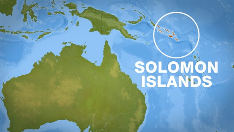 Australia and the Solomon Islands