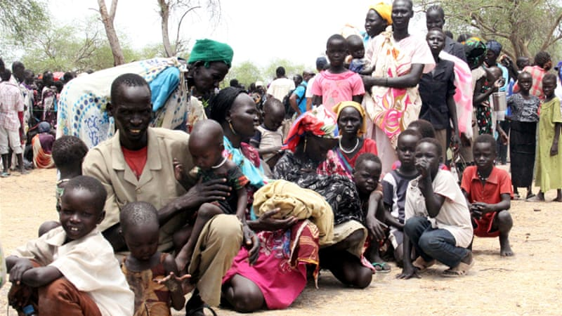 Residents have been displaced due to the recent fighting between government and rebel forces in the Upper Nile [Reuters]