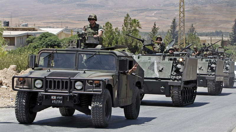 Farmers have also quarrelled with the Lebanese army over its stringent counterterrorism measures [AP]