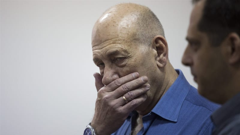Ehud Olmert will be the first former head of government in Israel to be imprisoned [EPA]
