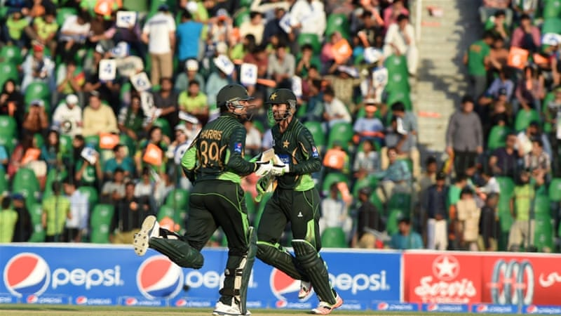 Malik and Sohail added 201 for the third wicket [AFP]