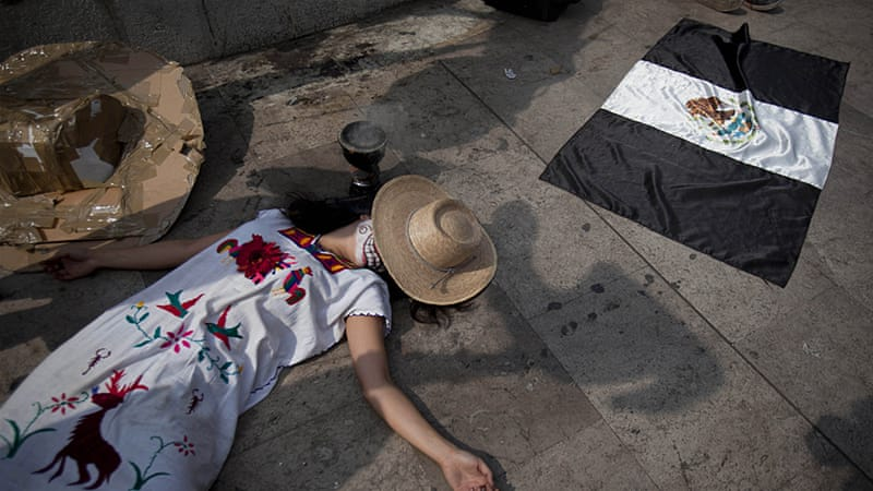 According to Reporters Without Borders, 81 journalists were killed from 2000 to 2014 in Mexico [Alejandro S. Chavez/Al Jazeera]