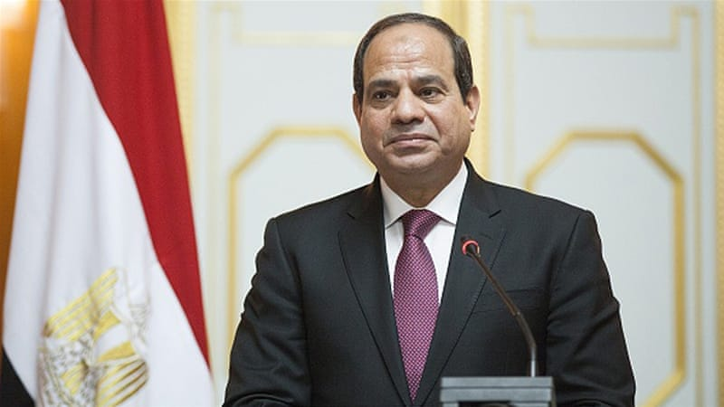 Egypt President Sisi President of Egypt Getty