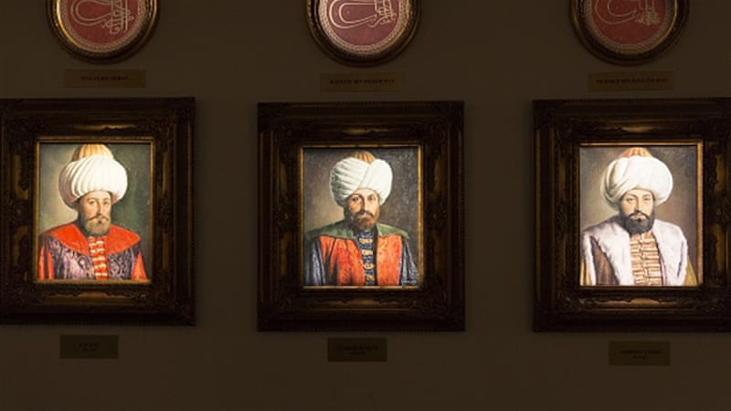 Portrait paintings of sultans of the Ottoman Empire [Getty]