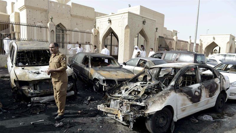 A deadly car bomb struck a Shia mosque in the eastern city of Dammam two months ago [Reuters]