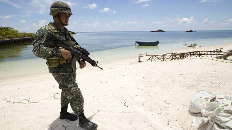 Aside from China and the Philippines, other Southeast Asian countries including Vietnam and Malaysia also claim parts of Spratlys [AP]