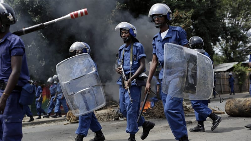 Burundi has been plunged into crisis after President Pierre Nkurunziza pushed for a third term in office [AP]