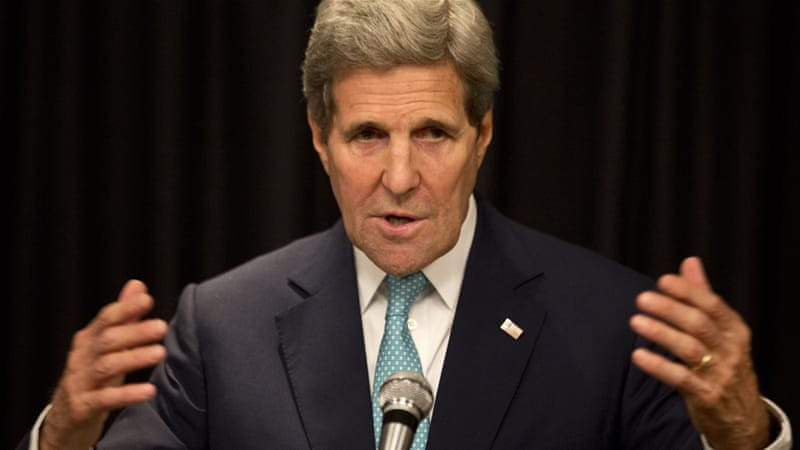 Kerry will meet the Somali president, prime minister, provincial leaders and civilian groups, US officials said [AP]