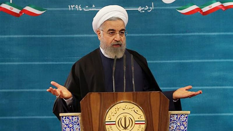 Rouhani has said that Iran will honour its nuclear deal promises [EPA]