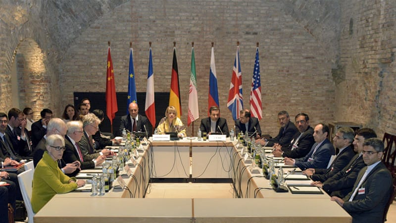 Iran nuclear talks are set to resume May 12 in Vienna [EPA]