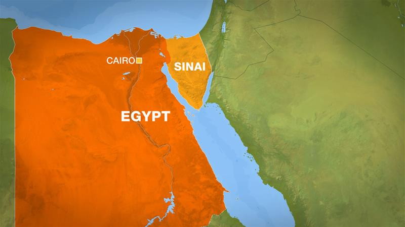 Exgyptian soldiers killed in Sinai